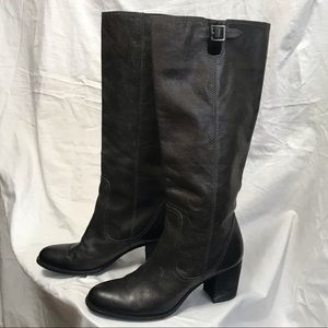 Vince Camino Heeled Leather Boots